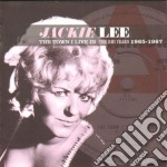 TOWN I LIVE IN ~ THE EMI YEARS cd musicale di Jackie Lee