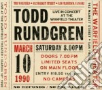 Live at the warfield 10th cd musicale di Todd Rundgren