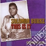 Solomon Burke - This Is It - Apollo Soul Origins cd musicale di Solomon Burke