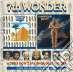 7th Wonder - Words Don't Say Enough / Thunder cd musicale di Wonder 7th