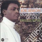 Joe Simon - Monument Of Soul cd musicale di Joe Simon