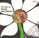 Mc Williams, David - Days Of David Mcwilliams cd musicale di David Mc williams
