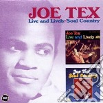 LIVE AND LOVELY/SOUL COU                  cd musicale di Joe Tex