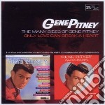 MANY SIDES OF GENE PITNEY/ONLY LOVE CAN   cd musicale di Gene Pitney