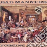 Forging ahead cd musicale di Manners Bad