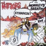 STAMPEDE / MONKEY BREATH                  cd musicale di METEORS