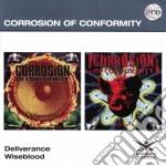 DELIVERANCE/WISEBLOOD                     cd musicale di Corrosion of conform