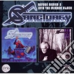 REFUGE DENIED/INTO THE MIRROR BLACK       cd musicale di SANCTUARY