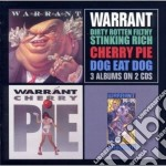 Dirty rotten/cherry pie/dog eat dog cd musicale di WARRANT