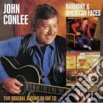 John Conlee - Harmony/american Faces cd musicale di John Conlee