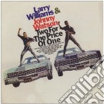 Larry Williams/johhn - Two For The Price Of One cd musicale di Williams/johhn Larry