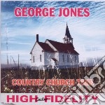 Country church time cd musicale di George Jones