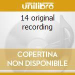 14 original recording cd musicale