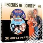 Legends of country cd musicale di Artisti Vari