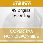 49 original recording cd musicale di Louis Armstrong