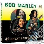42 great performance cd musicale di Bob Marley