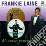 40 great performance cd musicale di Frankie Laine