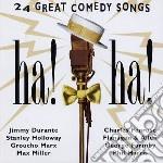 Ah! ah! 24 ggreat comedy songs cd musicale di Artisti Vari
