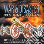 WAR & DISASTER/99 SOUND EFFECTS cd musicale di SOUND EFFECTS