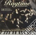 Ragtime memories cd musicale di Artisti Vari