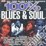 100% BLUES & SOUL cd musicale di ARTISTI VARI