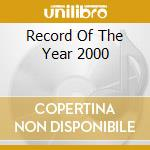 The record of the year 2000 cd musicale