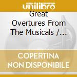 Great ouvertures from the musicals cd musicale