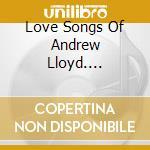 Love song of andrew lloyd webber cd musicale