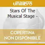 The stars of the musical stage cd musicale