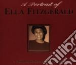 A PORTRAIT OF ELLA FITZGERALD cd musicale di FITZGERALD ELLA