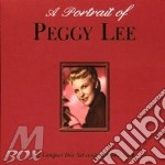 A PORTRAIT OF PEGGY LEE cd musicale di LEE PEGGY