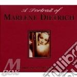 A PORTRAIT OF MARLENE DIETRICH cd musicale di DIETRICH MARLENE