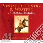 VINTAGE COUNTRY & WESTERN cd musicale di AA.VV.