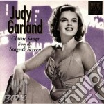 Songs from the stage & screen cd musicale di Judy Garland