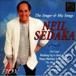 The singer his song cd musicale di Neil Sedaka