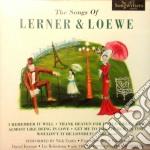 THE SONGS OF cd musicale di LERNER & LOEWE
