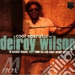 COOL OPERATOR cd musicale di WILSON DELROY