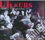 ORIGINAL PUNKS ORIGINAL HITS cd musicale di UK SUBS