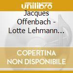 Lotte lehmann sings cd musicale di Artisti Vari