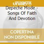 Songs of faith..live cd musicale di DEPECHE MODE