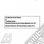 THE SECON ANNUAL REPORT cd musicale di Gristle Throbbing