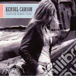 REARVIEW MIRROR TEARS cd musicale di KENDEL CARSON
