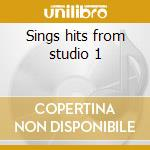Sings hits from studio 1 cd musicale di Johnny Clarke