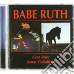 FIRST BASE/AMAR CABALLERO cd musicale di BABE RUTH