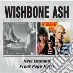 NEW ENGLAND/FRONT PAGE... cd musicale di WISHBONE ASH