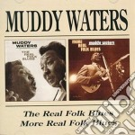 Muddy Waters - Folk Blues / More Folk Blues cd musicale di WATERS MUDDY