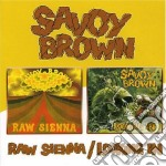 RAW SIENNA/LOOKING IN cd musicale di BROWN SAVOY