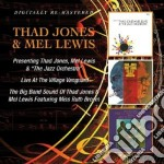 Presenting/live at the village vanguard cd musicale di Thad & lewis Jones