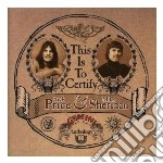 Rick Price & Mike Sheridan - This Is To Certify cd musicale di Rick & mike s Price