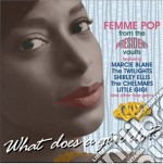 What Does A Girl Do? - What Does A Girl Do? cd musicale di What does a girl do?